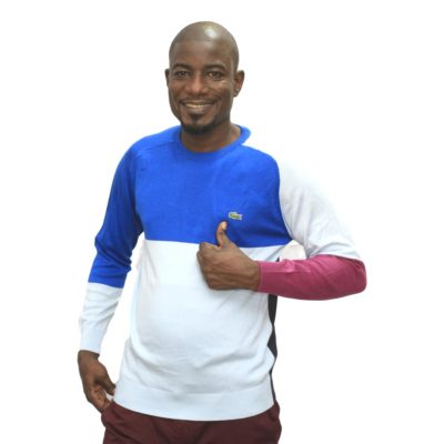 Pull lacoste col rond