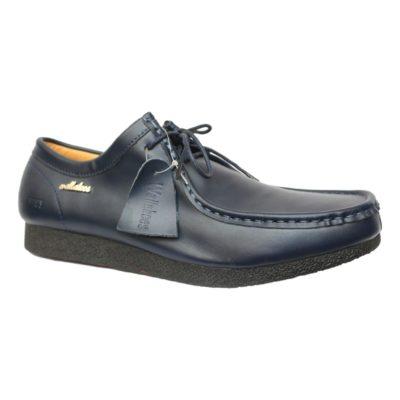 Chaussures en cuir wallabies