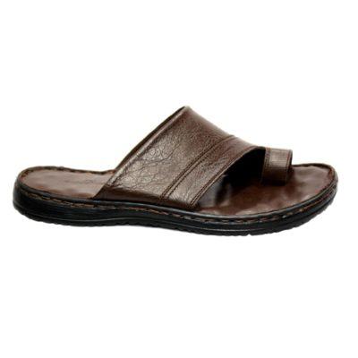 Sandale en Cuir Entre Doigt