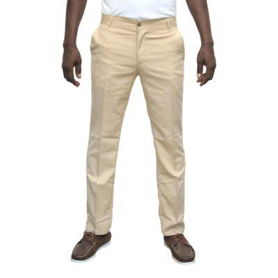 Pantalon kaki léger homme