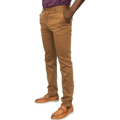 Pantalon kaki homme L06