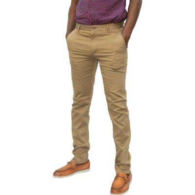 Pantalon Kaki Homme L01