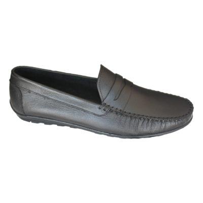 Chaussures Mocassin En Cuir